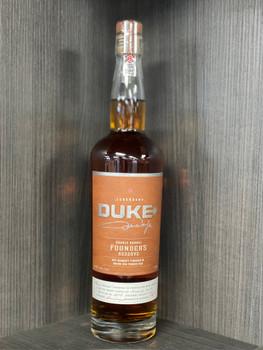 Duke Double Barrel Founders Reserve Rye Whiskey 750ml