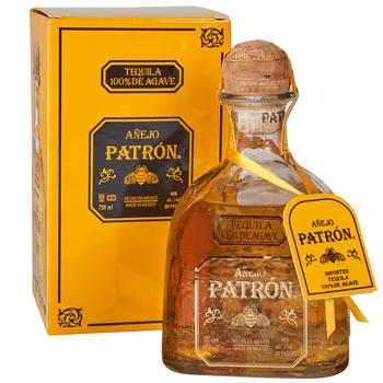 Patron tequila anejo 375ml