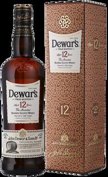 Dewar's scotch blended 12yr 750ml