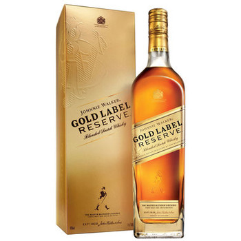 Johnnie Walker scotch blended gold label reserve 750ml
