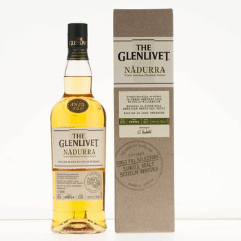 Glenlivet scotch single malt nadurra first fill selection speyside 750ml