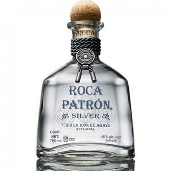 Patron roca tequila silver 750ml