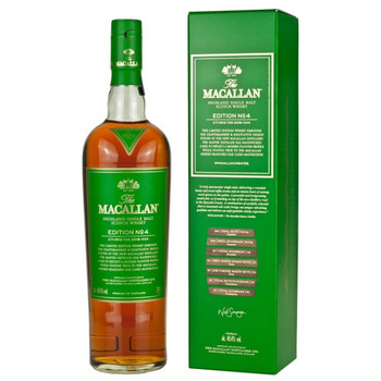 Macallan scotch single malt malt 4 edition 750ml