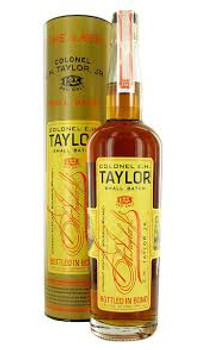 Colonel E.H Taylor bourbon small batch Kentucky 750ml