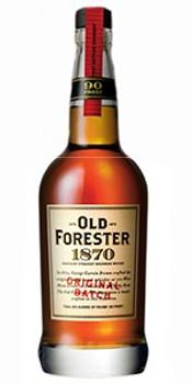 Old Forester bourbon 1870 original batch Kentucky 750ml