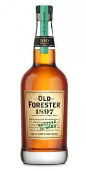 Old Forester bourbon 1897 bottled in bond Kentuky 750ml