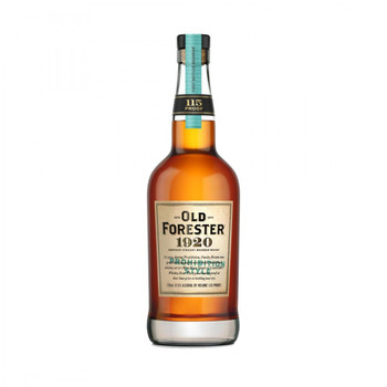 Old Forester bourbon 1920 prohibition style 750ml