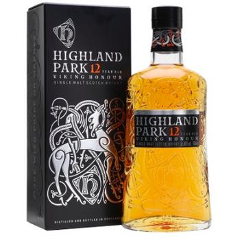 Highland park Viking Honour scotch single malt Scotch Whisky 12 YR old 750ml