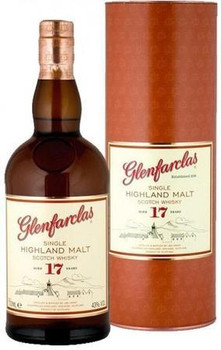 Glenfarclas scotch single malt highland 17yr old 750ml