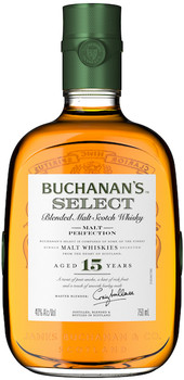Buchanan's scotch blended malt select 15yr 750ml