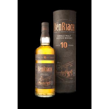 Benriach scotch single malt speyside 10yr old 750ml