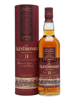 Glen dronach scotch single scotch 12yr old 750ml