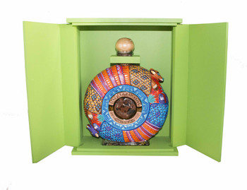 Dos Armadillos tequila extra anejo reserva oaxaca painted limited edition 750ml