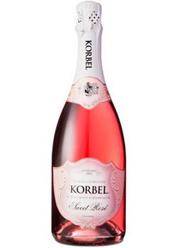 Korbel champagne sweet rose California 750ml