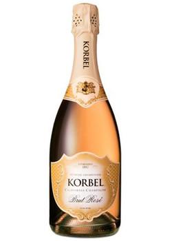 Korbel champagne brut rose California 750ml