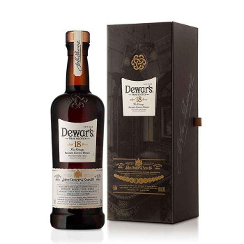 Dewar's scotch blended 18yr old 750ml
