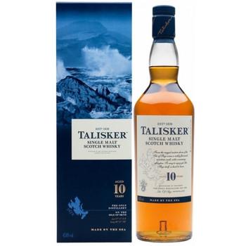 Talisker scotch single malt 10yr old 750ml