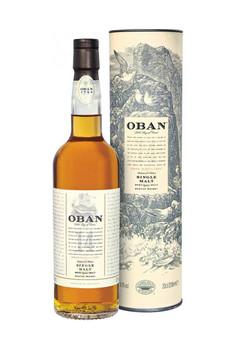 Oban scotch single malt highland 14yr old 750ml