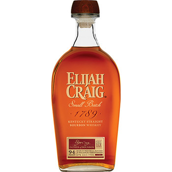 Elijah craig Kentucky bourbon small Batch whisky 750ml