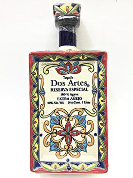Dos Artes tequila extra anejo reserva 1L