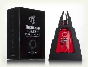 Highland Park fire edition 15yr old scotch whisky 750ml