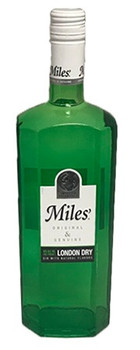 Miles original&genuine London dry gin with natural flavors 750ml