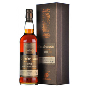 GlenDronach scotch single cask matured 1993 distilled 24yr old 750ml