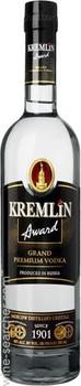 Kremlin Award vodka premium Russia 1L
