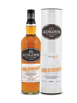 Glengoyne scotch whisky Cask strength 750ml