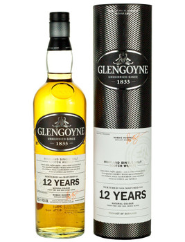 Glengoyne scotch single malt highlanded 12yr old 750ml