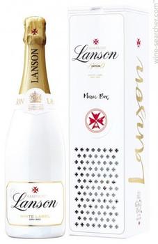 Lanson Champagne White Label Dry-sec France 750ml