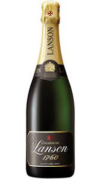Lanson Champagne Black label Brut 1760 France 750ml
