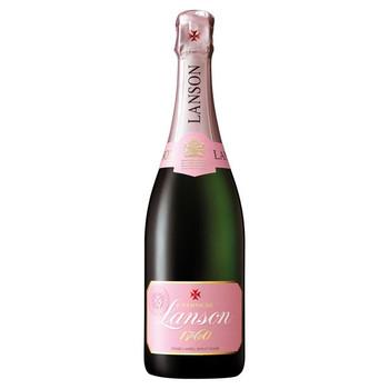 Lanson Champagne Rose Label Brut Rose France 750ml