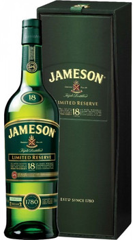 Jameson Irish whisky 18 Yr old Limited Reserve 750ml