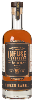 Infuse Spirits Small Bourbon Batch Whisky Broken Barrel 750ml