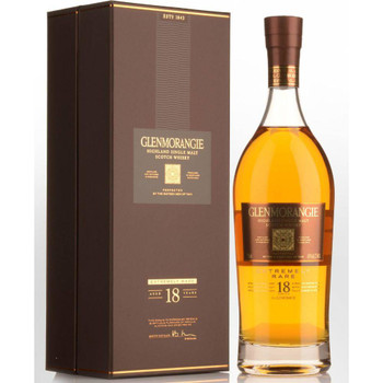 Glenmorangie Highland Single Malt Scotch Whisky 18 Yr Old 750ml
