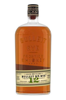 Bulleit bourbon Straight American Rye Whisky 12 YR Old 750ml
