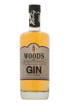 Wood's Gin High Mountain Barrel Rested 750ml