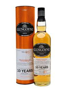 Glengoyne Highland Single Malt Scotch 10 YR Old 750ml