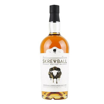 Skrewball Peanut Butter Whiskey Natural Flavors And Caramel Color 70PF 750ml