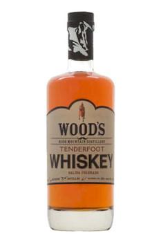 Wood's Tenderfoot Whisky High Mountain American Malt 750ml