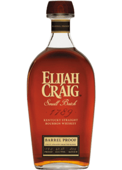 Elijah Craig Kentucky Straight Bourbon Whiskey Barrel Proof Batch NC919 750ml