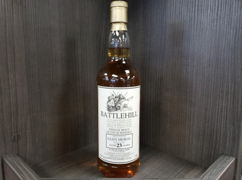 Battlehill Glen Moray Single Malt Scotch Whisky 23 YR Aged in Oak Casks 750ml