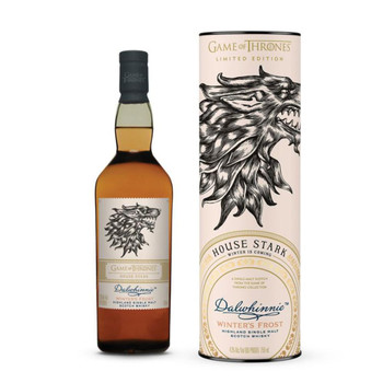 Dalwhinnie Winter's Frost House Stark Scotch Single Malt Game of Throne Limited Edition 750ml