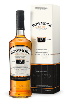 Bowmore Islay Single Malt Scotch Whisky 12 YR 750ml