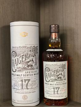 Craigellachie Single Malt Scotch Whisky 17 YR 92PF 750ml