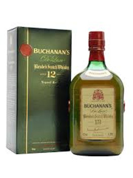 Buchanan's Deluxe Blended Scotch Whisky 12 Yr 750ml