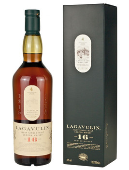 Lagavulin Islay Single Malt Scotch Whisky 16 yr 750ml
