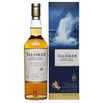 Talisker Single Malt Scotch Whisky 18 yr 750ml