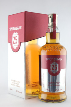 Springbank Campbeltown Single Malt Scotch Whisky 25yr 750ml